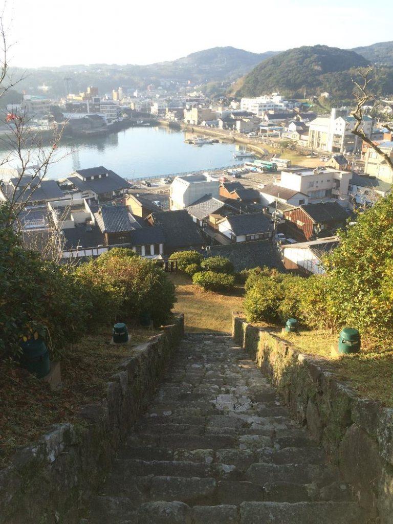 入江と平戸城