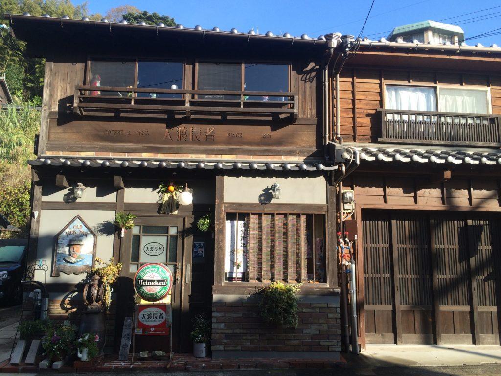 平戸の個性的な雰囲気の喫茶店