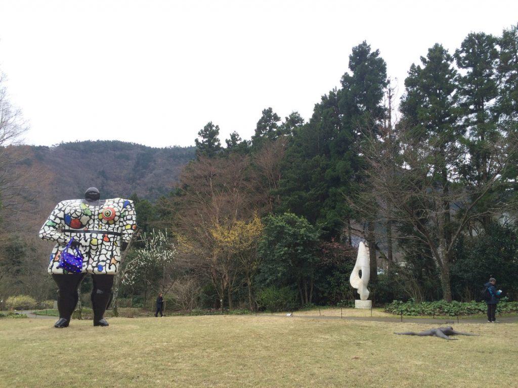 彫刻の森美術館の巨人