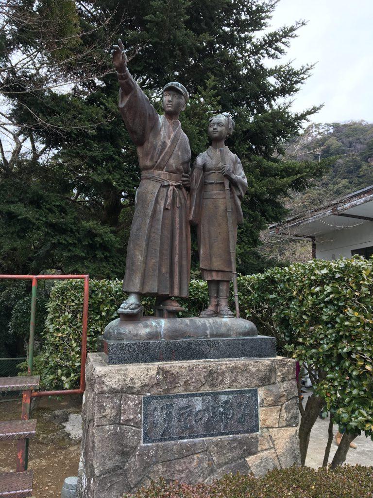 伊豆の踊り子銅像