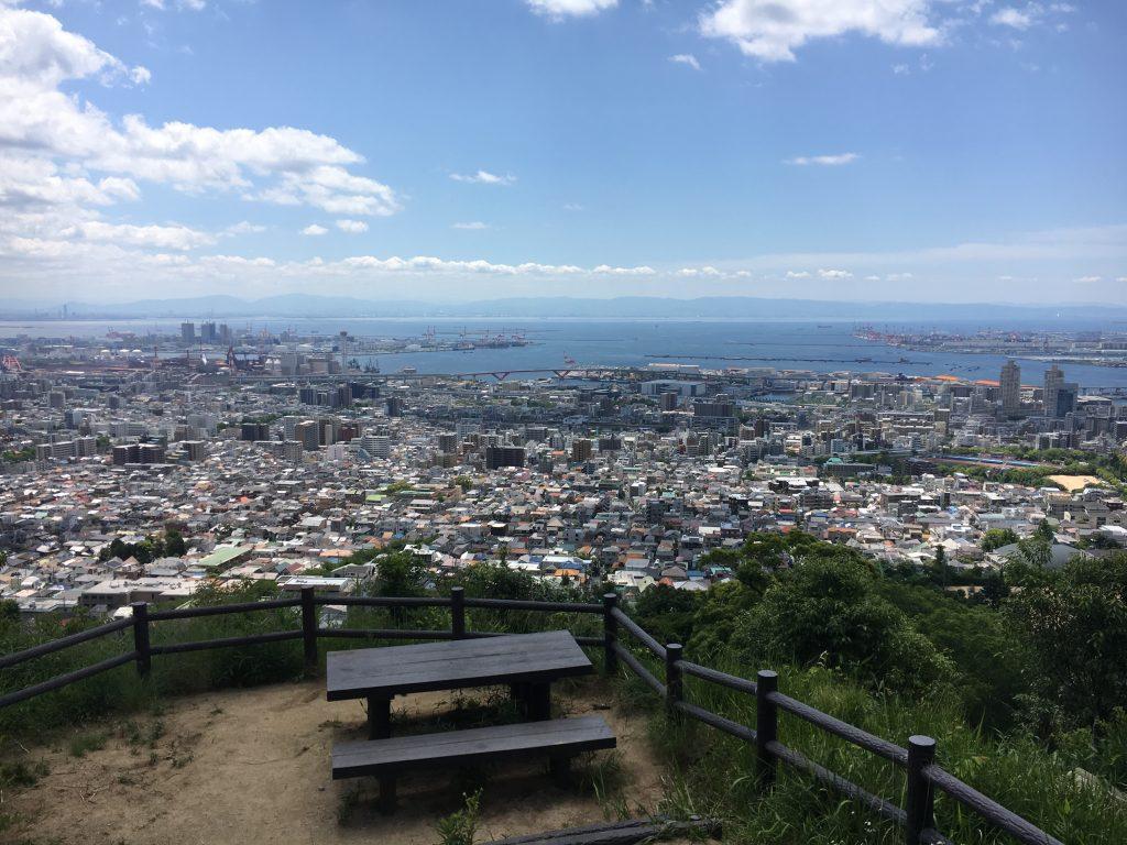 上野道展望台