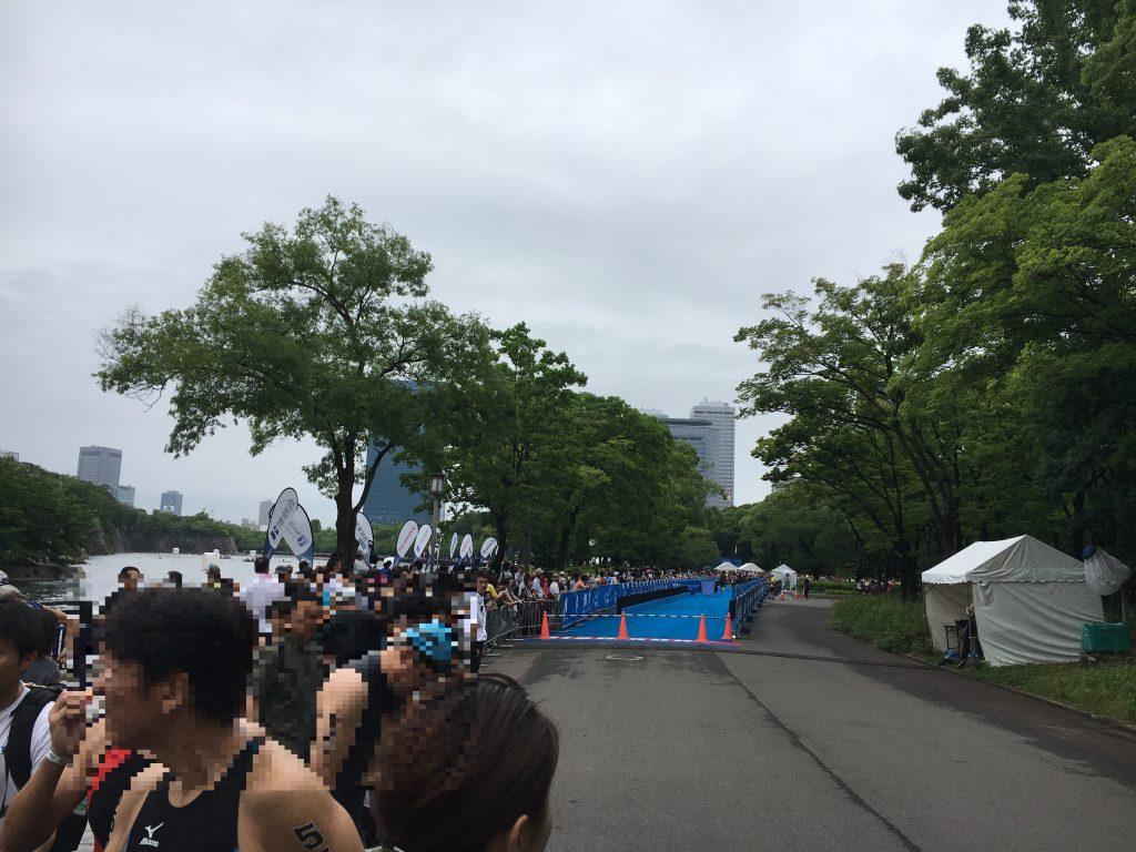 大阪城トライアスロントランジット