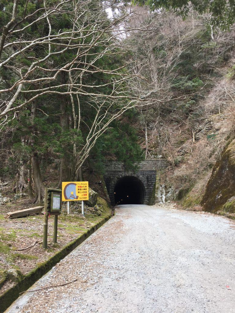 旧天城トンネル入り口