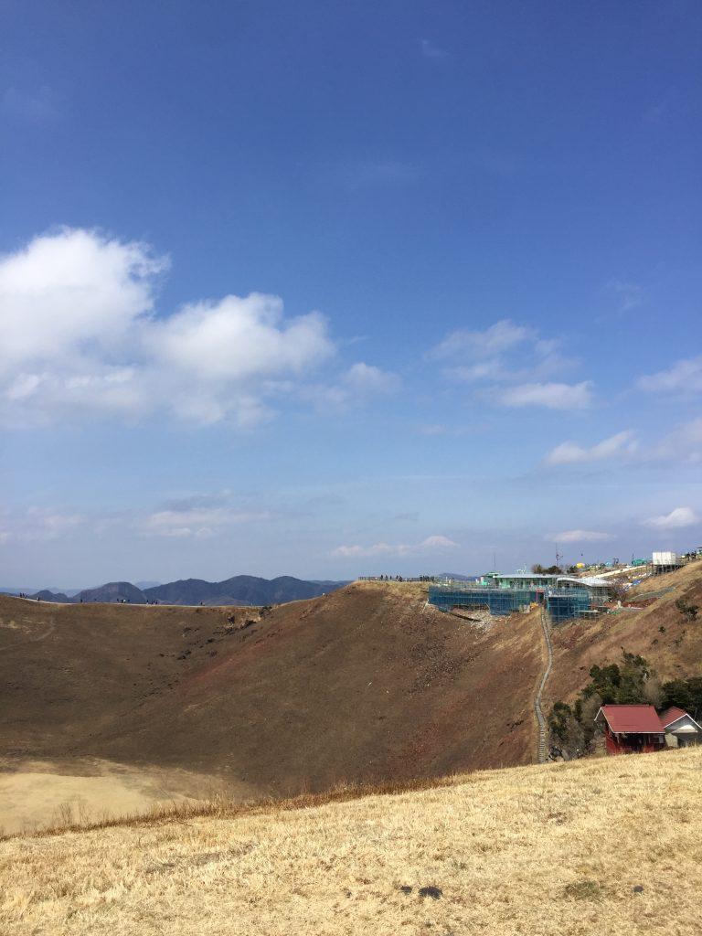 大室山と浅間神社