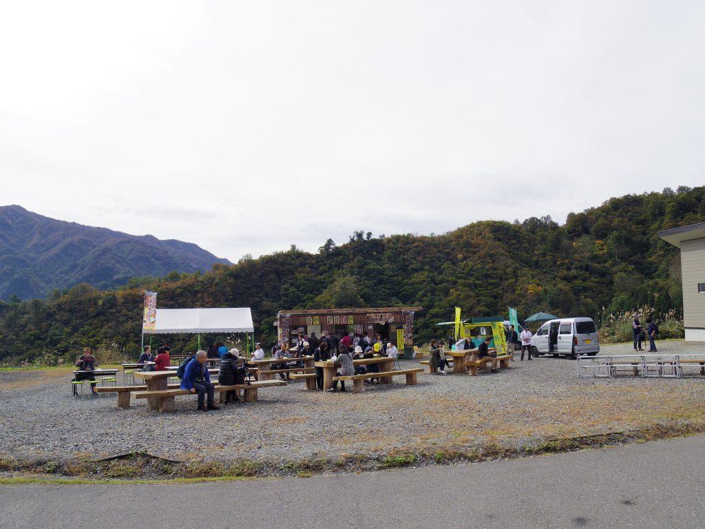 八海山駐車場
