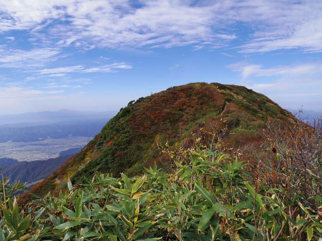 薬師岳山頂付近