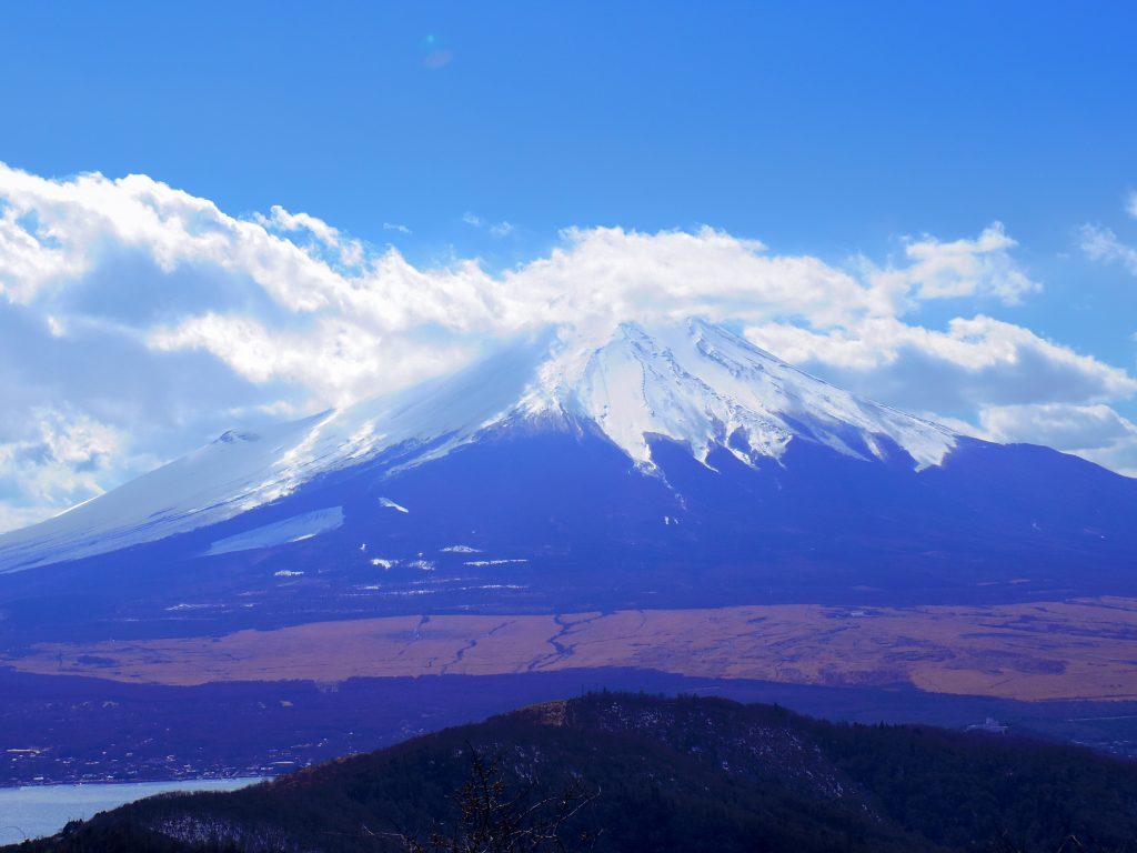 迫力の富士山