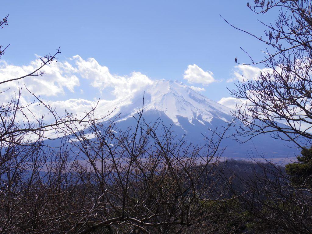 平尾山トレイルと富士山