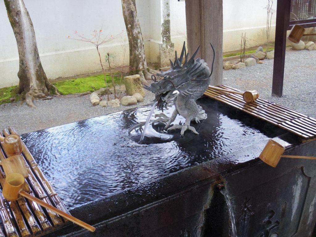 修善寺の手水場