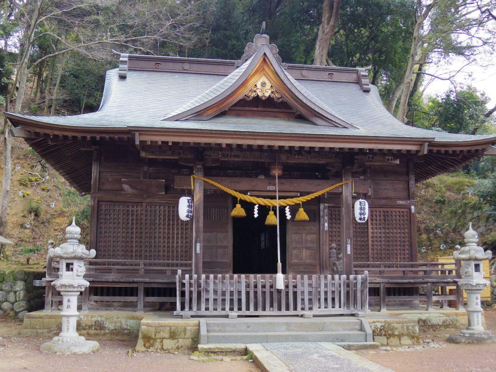 日枝神社の本堂。