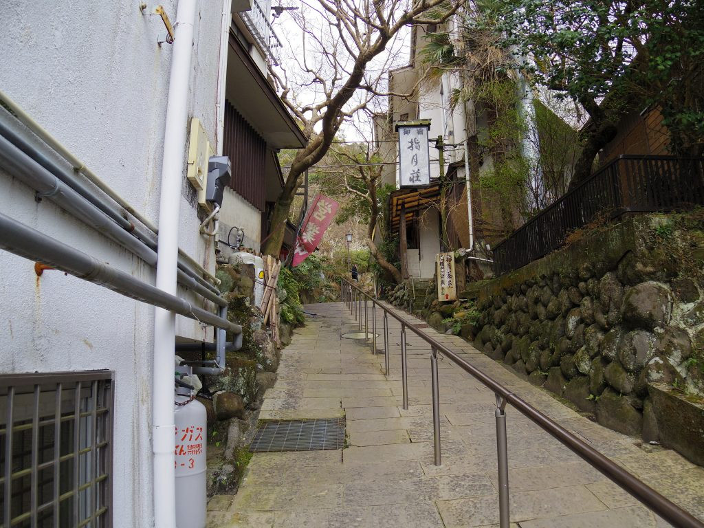 修善寺温泉街