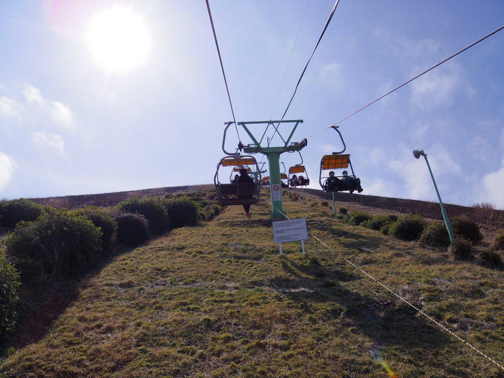 大室山リフトに乗る。その2