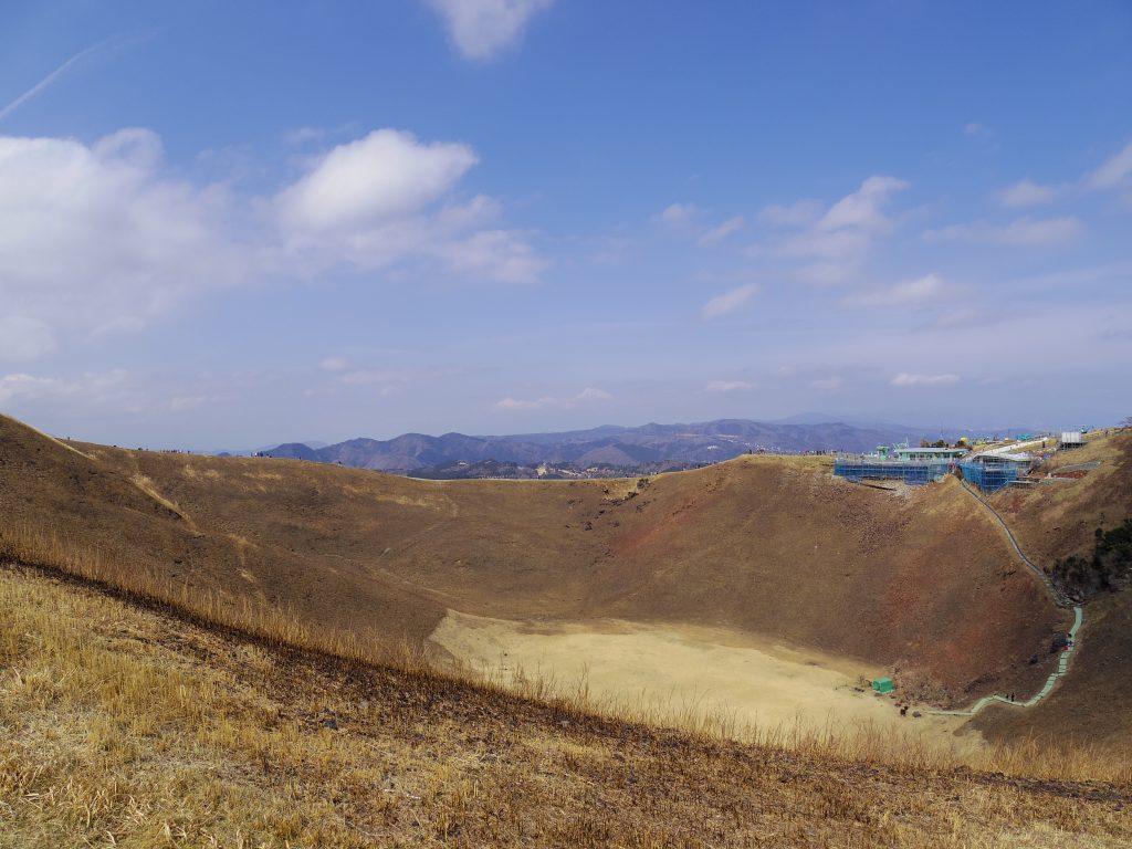 大室山の景色