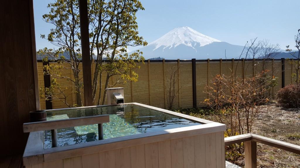 福地からの富士山