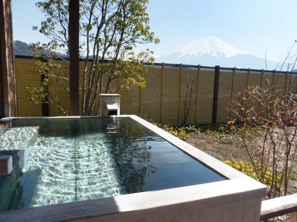 福地からの富士山展望
