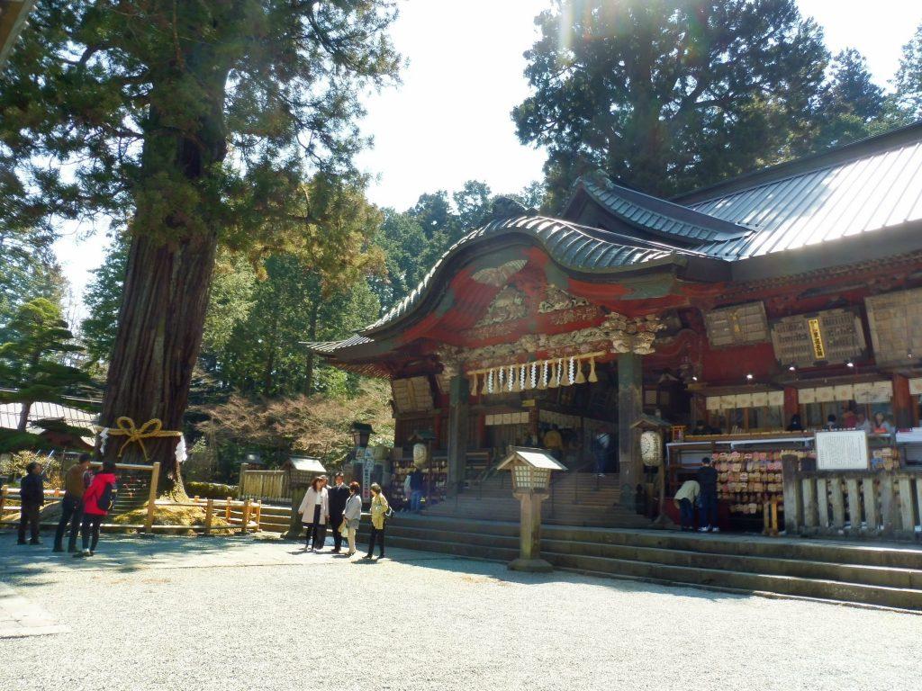 北口本宮富士浅間神社の本社