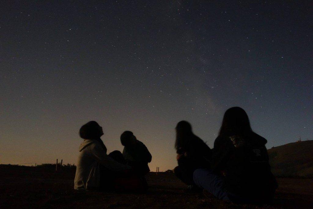 夜空-天の川