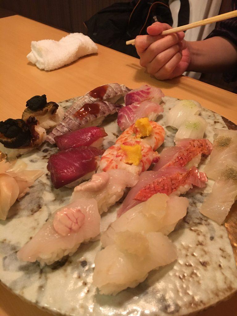 おまかせお寿司
