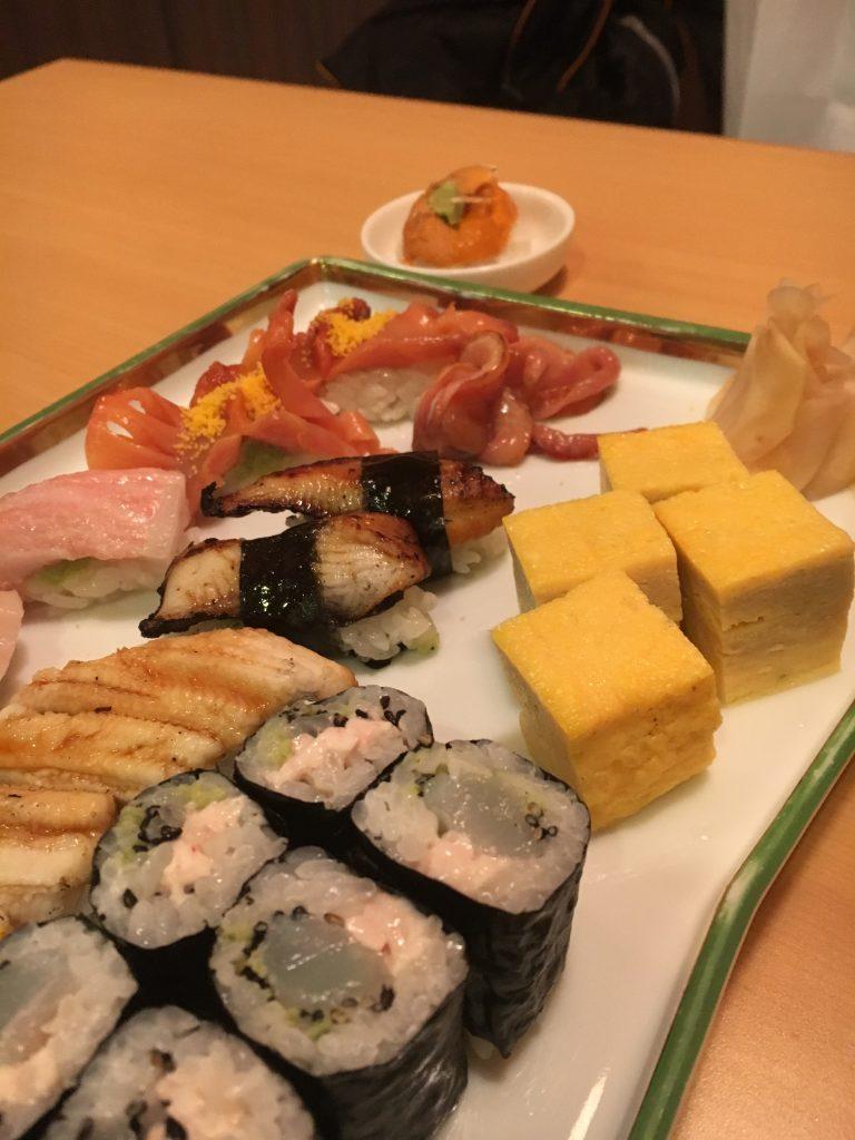 ボリュームあるお寿司