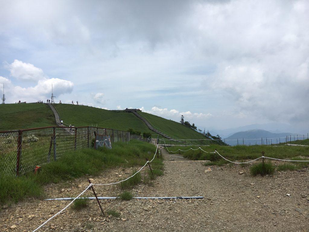剣山頂上周辺
