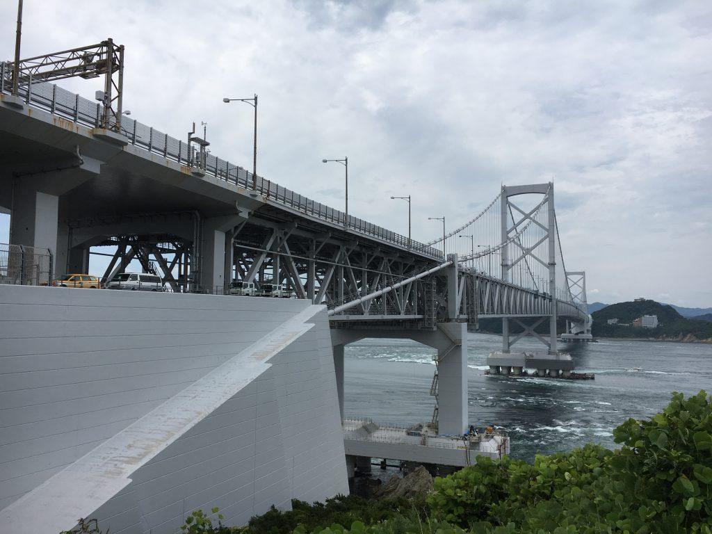 鳴門大橋の橋桁