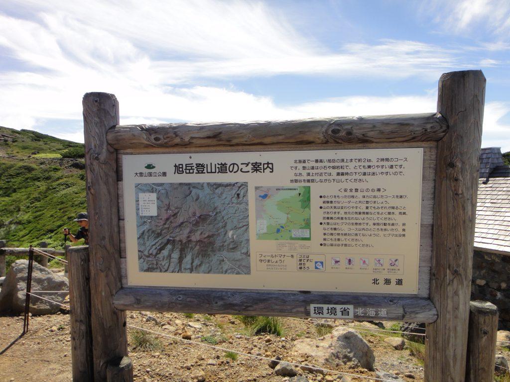 旭岳登山道のご案内