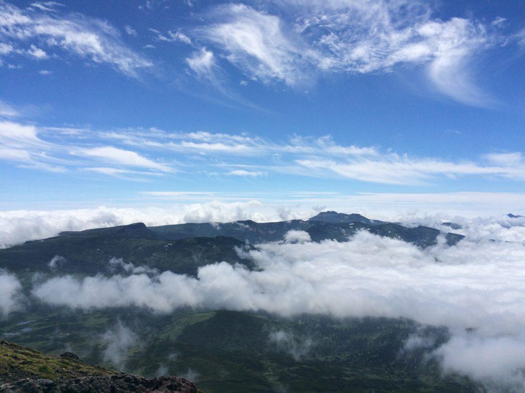 旭岳の雲海