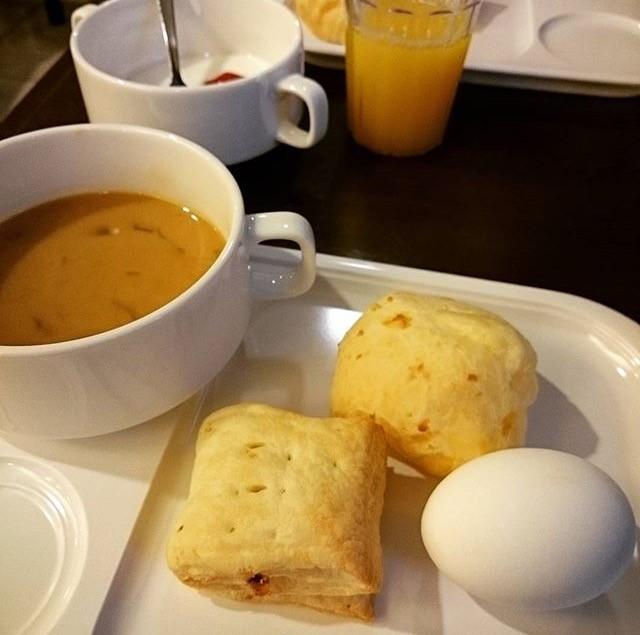 ビーズホテルの朝食