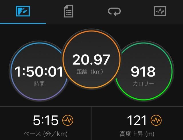 千歳JAL国際マラソンのタイム