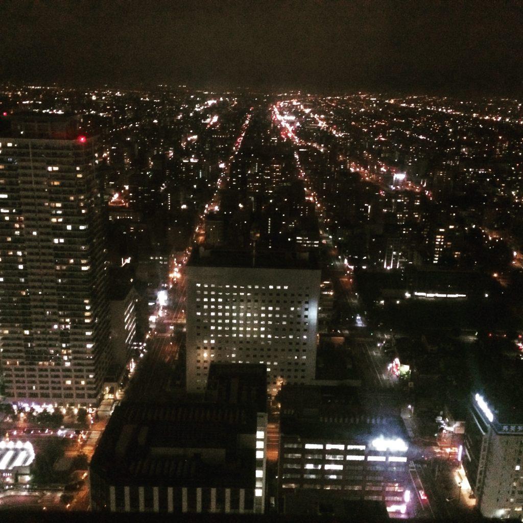 JRタワーからの夜景