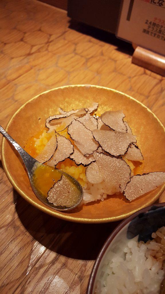 トリュフの玉子かけご飯