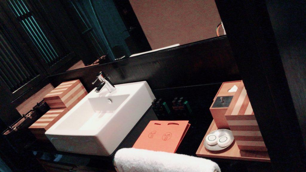エルメスの洗面台