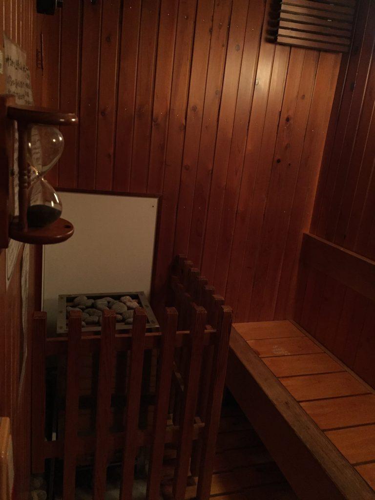 竹岩浴(サウナ)