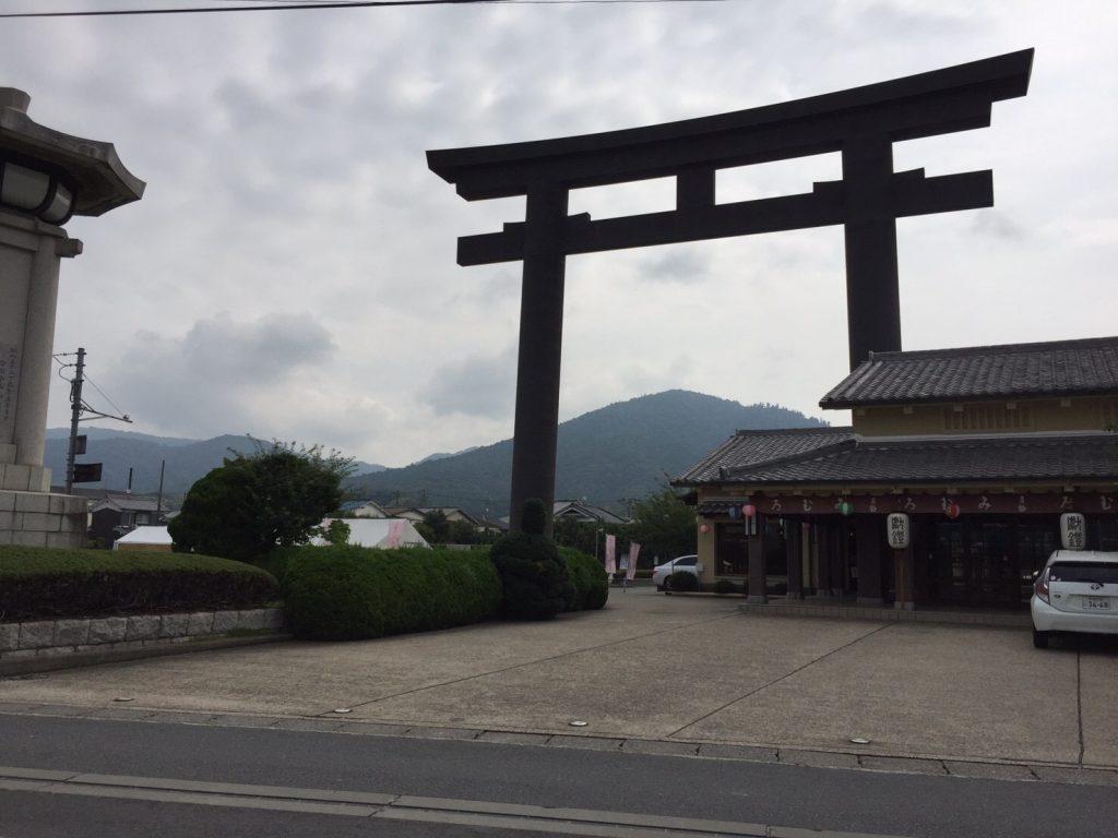 大神神社第一の鳥居