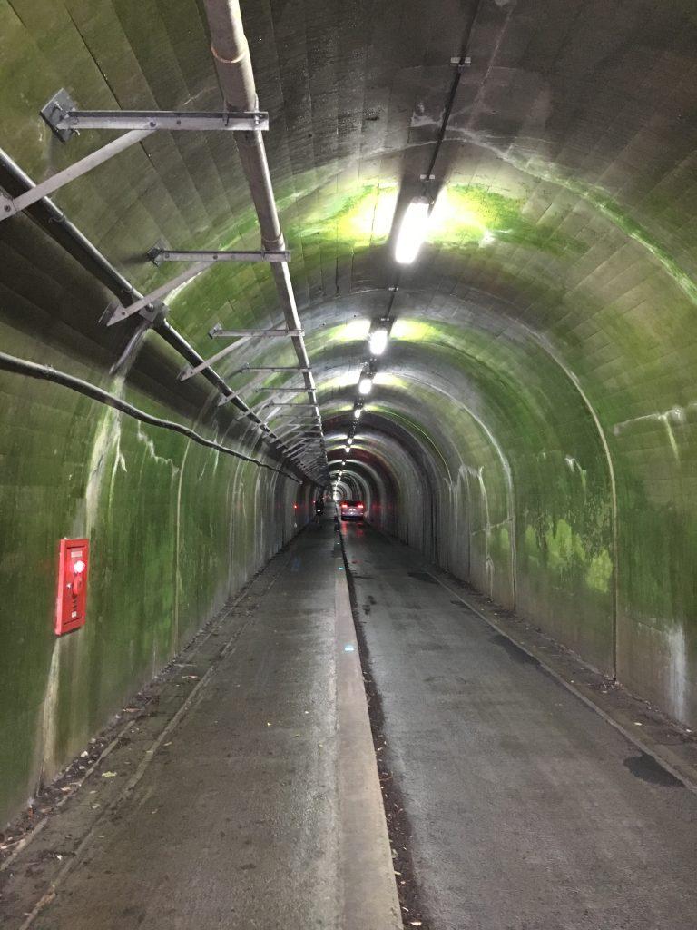 鬼ヶ城のトンネル