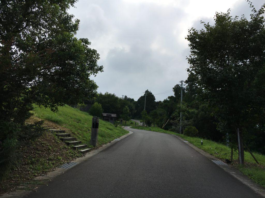 熊野倶楽部の敷地内道路