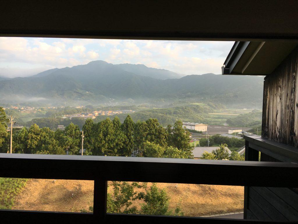 バルコニーからの景色