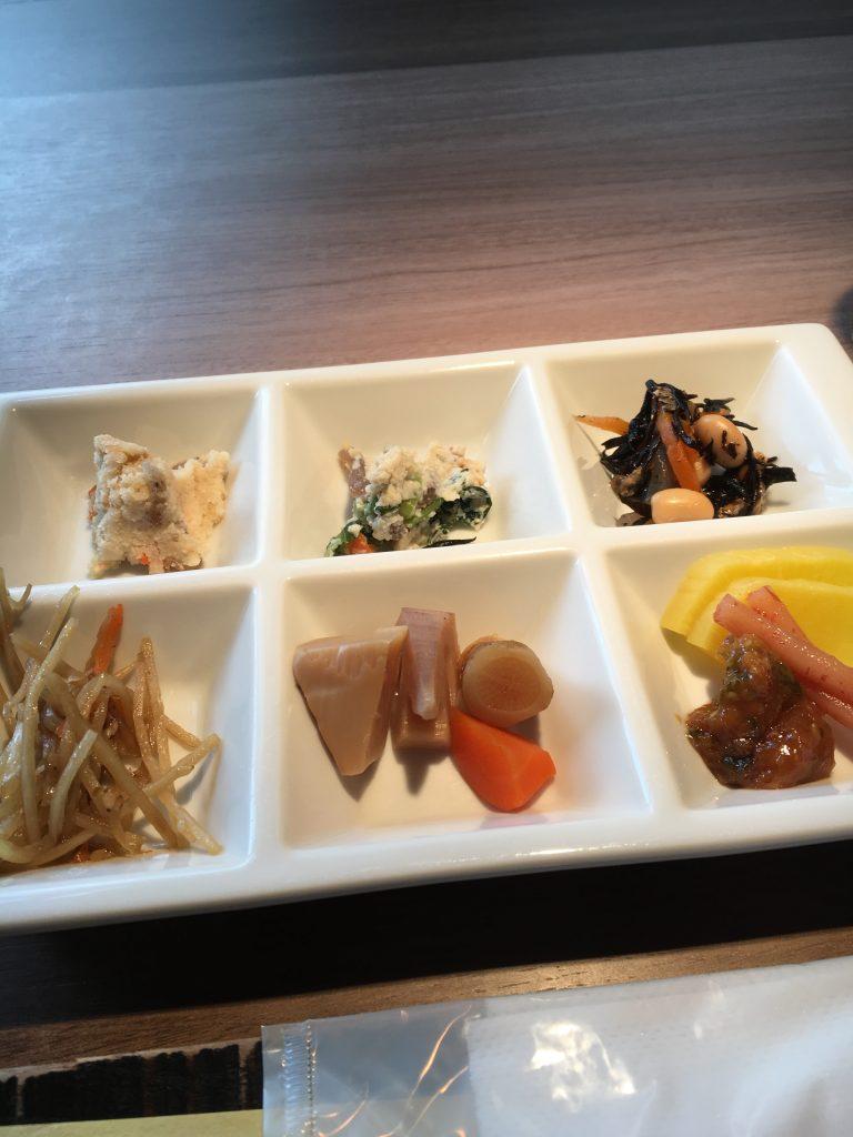 熊野倶楽部の朝食