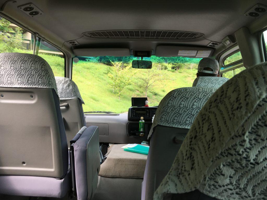 熊野倶楽部の周回バス