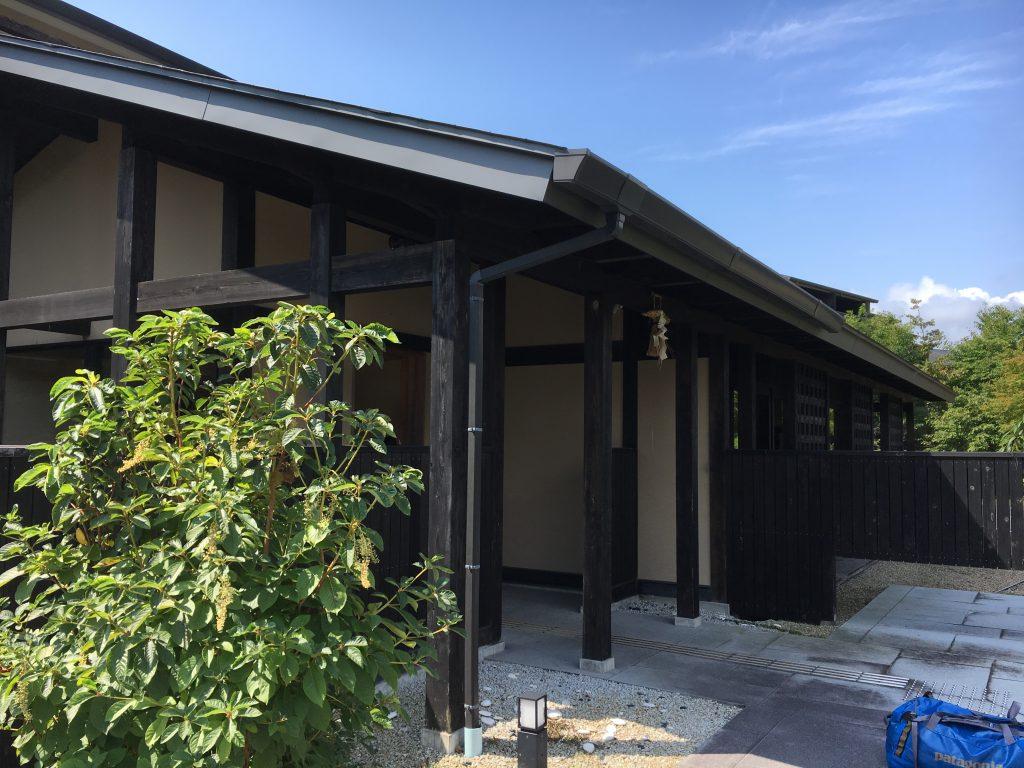 熊野倶楽部の宿帳場