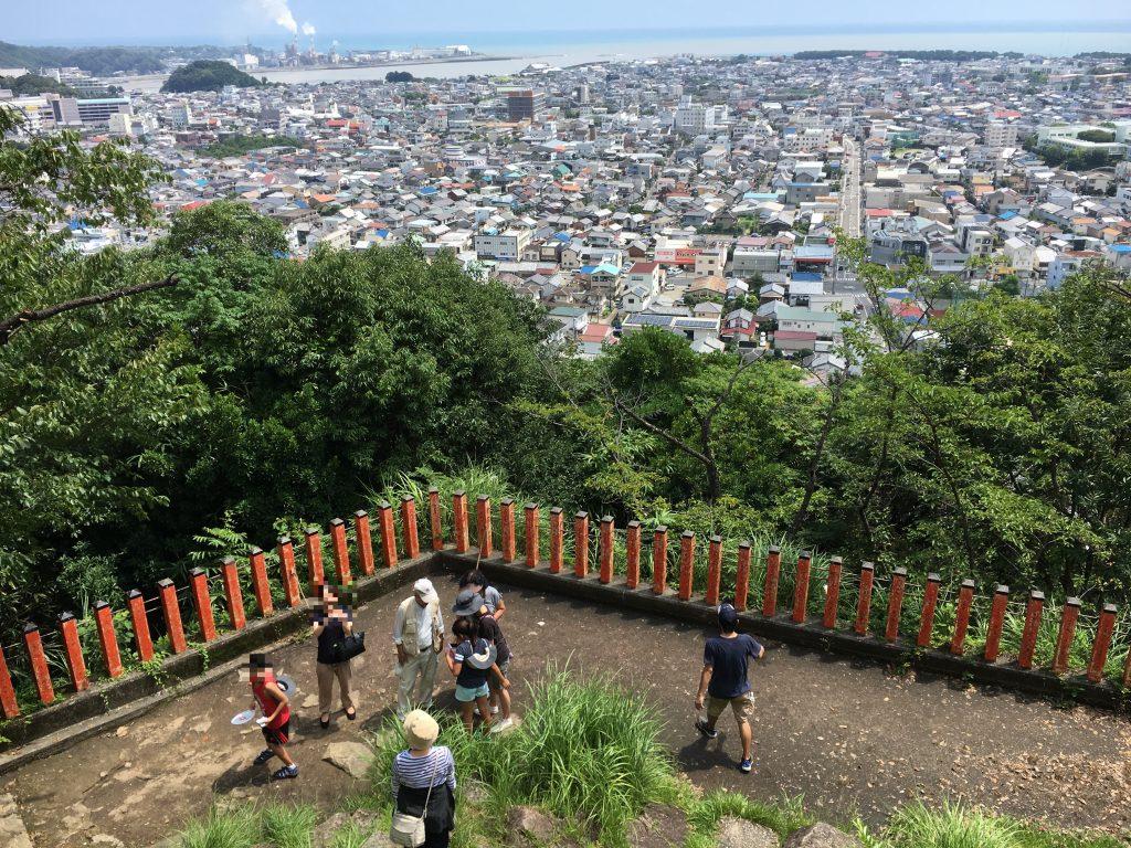 新宮市の眺望