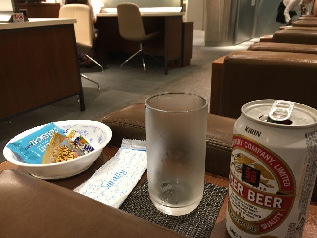 関空ラウンジ金剛の有料飲み物