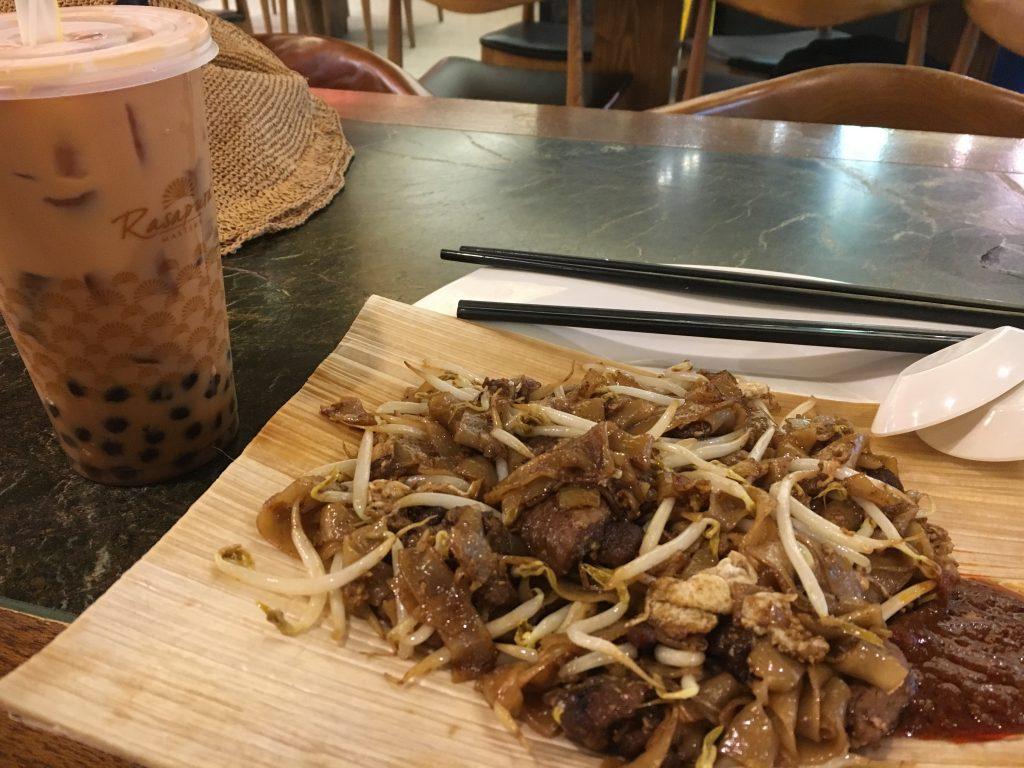 牛肉炒粿条