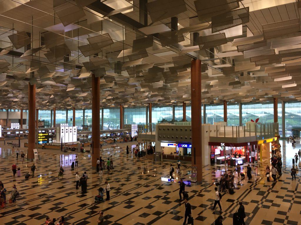 チャンギ国際空港の港内