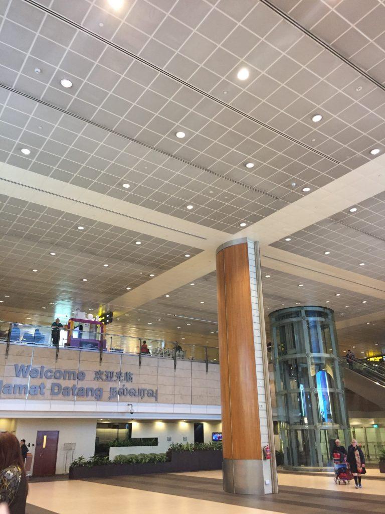 チャンギ国際空港入口