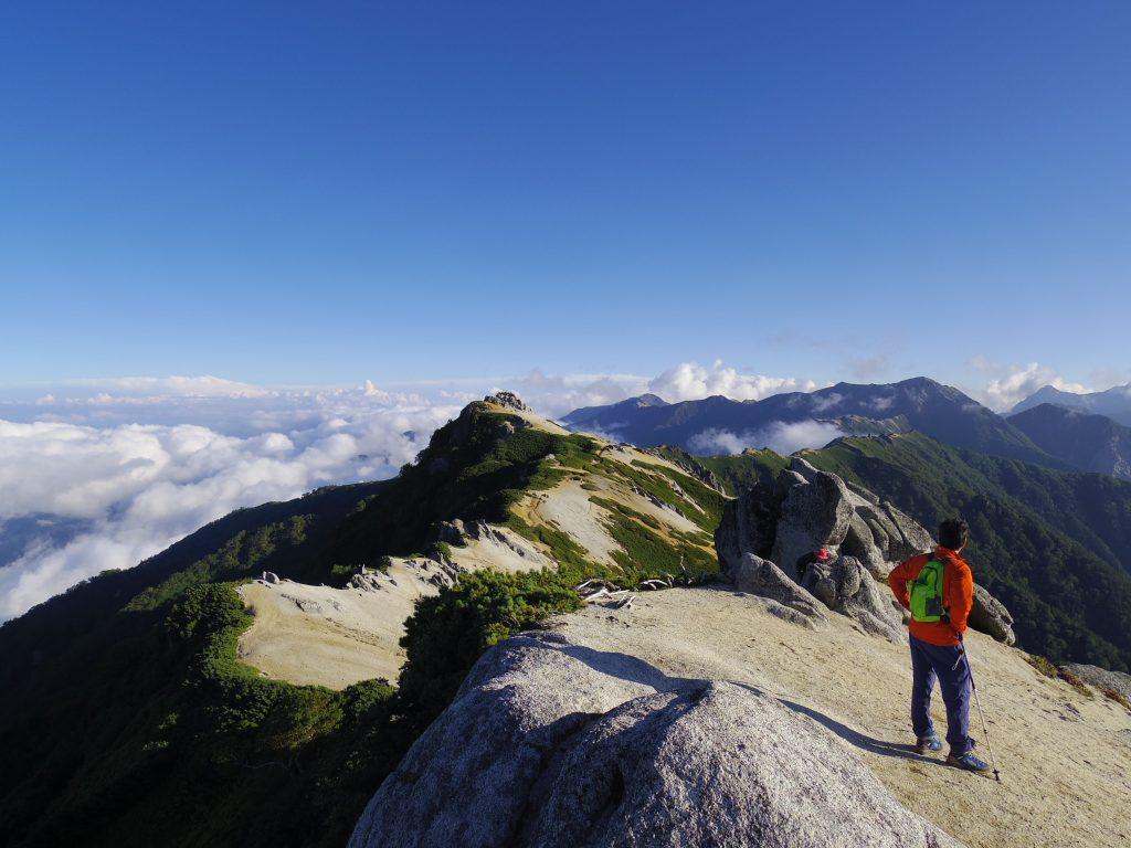 北燕岳からの眺望