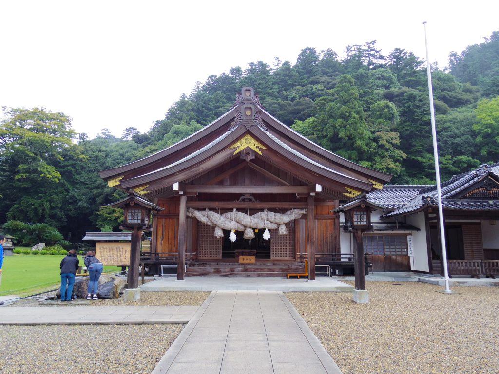 北島国造館の本殿