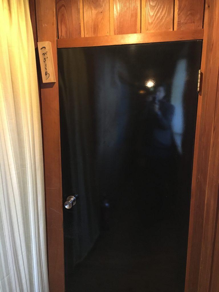 燕山荘の個室