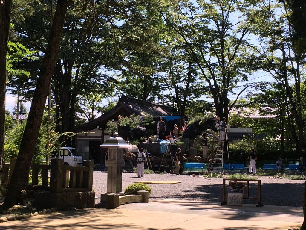 穂高神社の子供祭