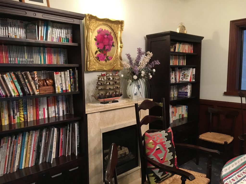 ジャズルームの本棚